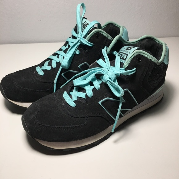 new balance 574 black mint
